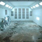 We have treated our floors for easy cleaning and recycling of debris.