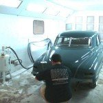 Prepare the vehicle for complete paint removal