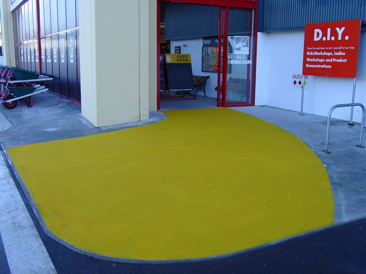 ColourTrack Project at Bunnings Warehouse