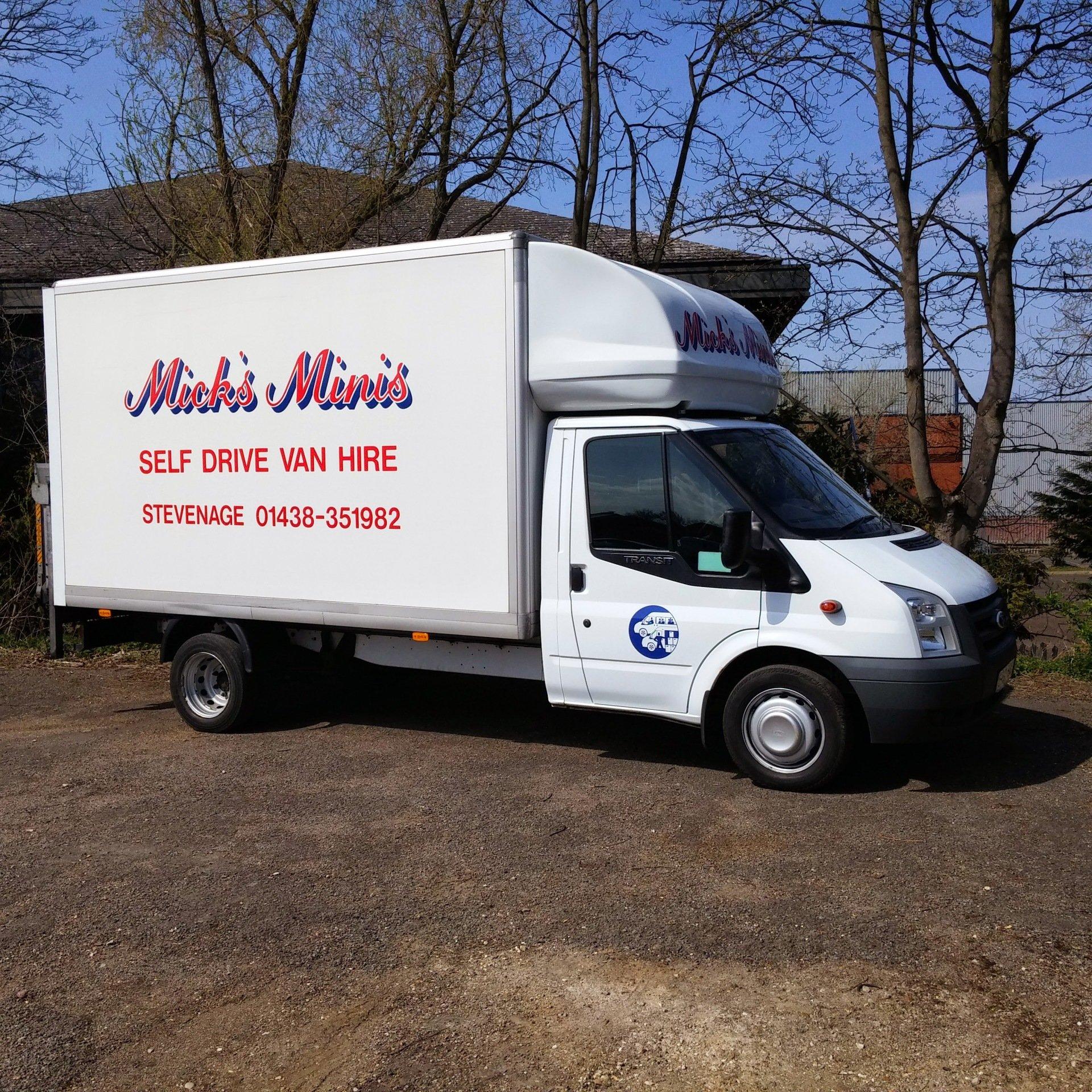 Cole Hire Self Drive Vans: Self Drive Van Hire In Stevenage