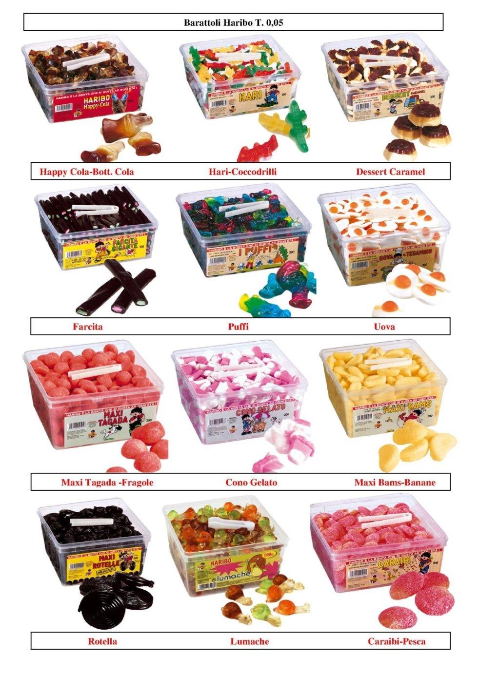 tutto per bambini, caramelle