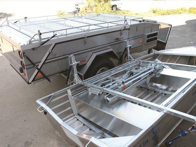 Roof Boat Loader Amp Slide Title Folding Boat Trailer