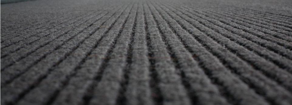 un tappeto antipolvere