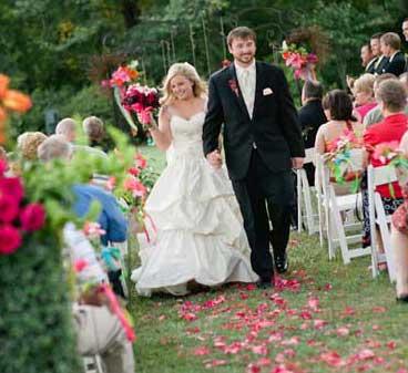 creating a fairy tale wedding