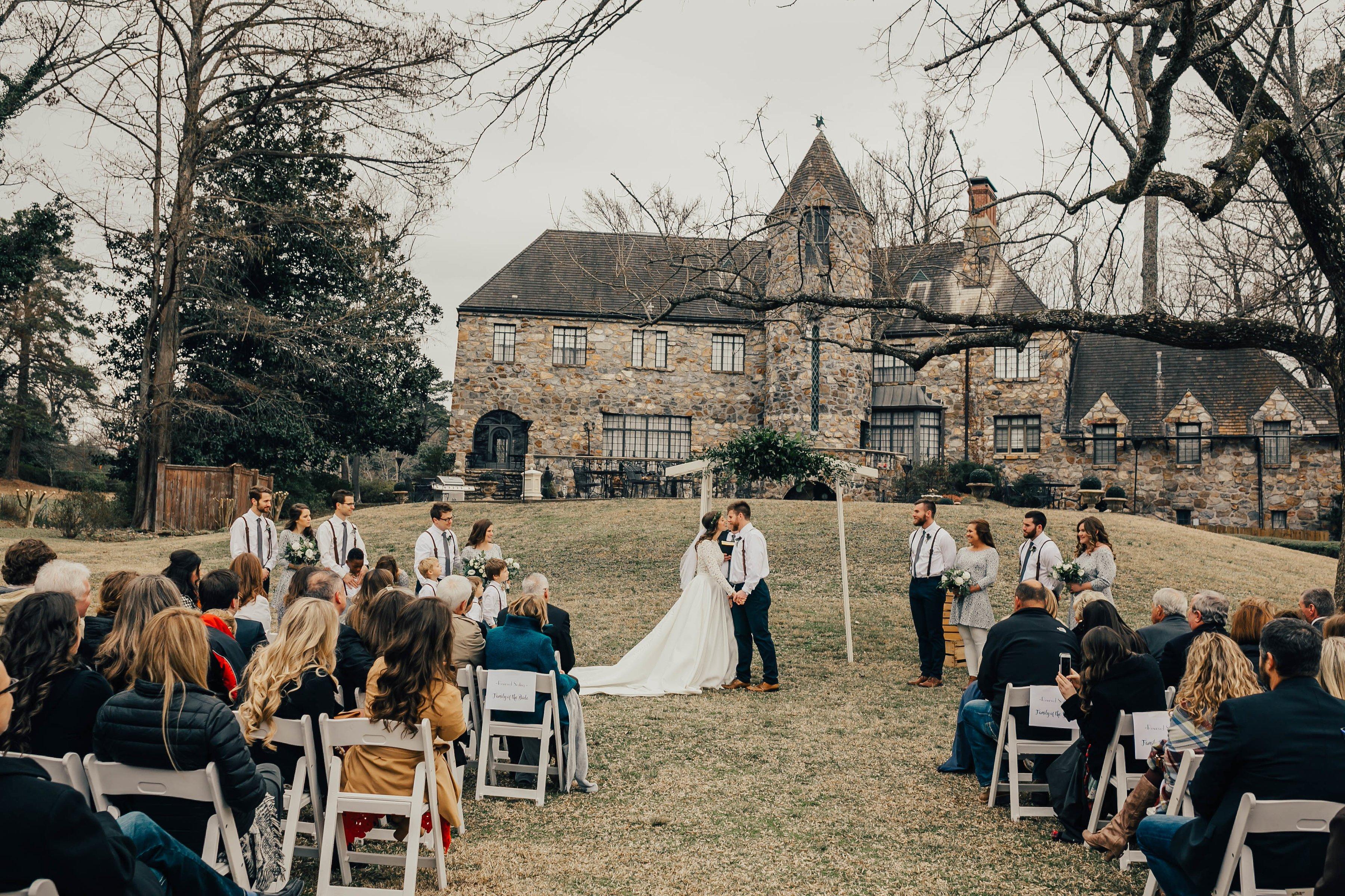 rustic wedding in little rock
