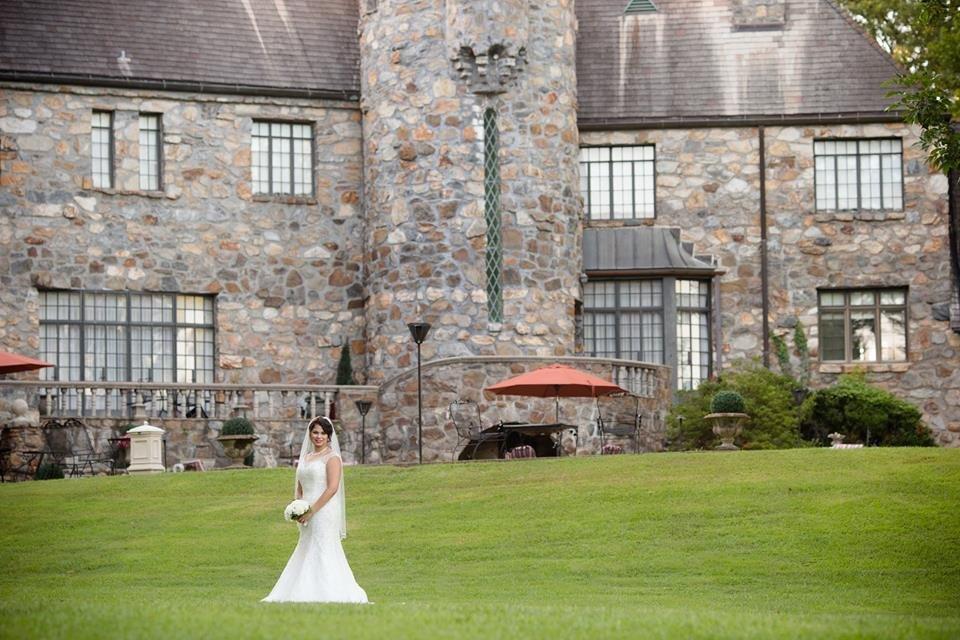bridal photoshoot in little rock