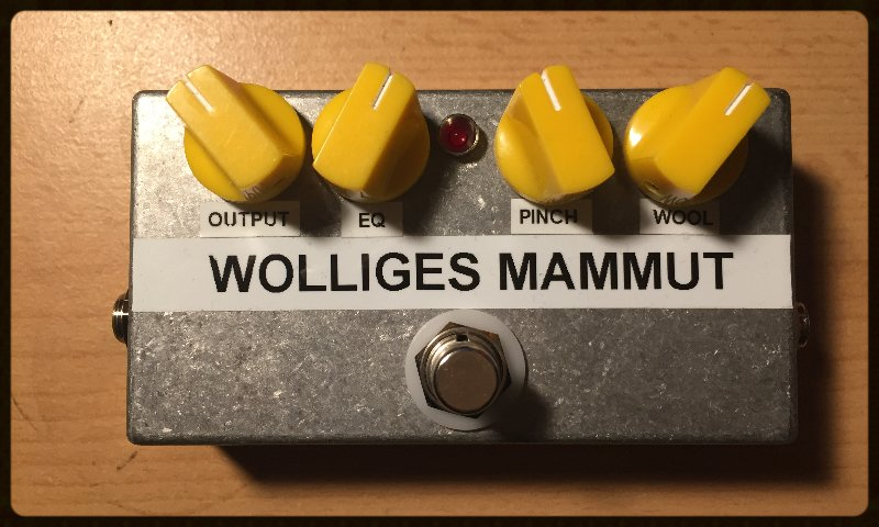 Wolliges Mammut