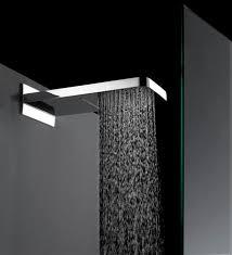 bocchettone della doccia in funzione