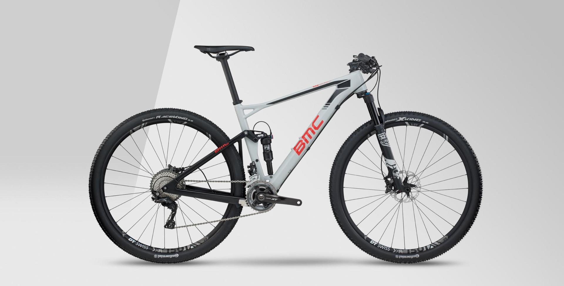 Mountain bike grigia