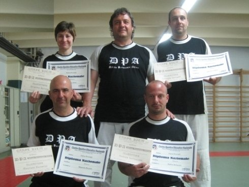 difesa personale con diplomi riconosciuti dal CONI