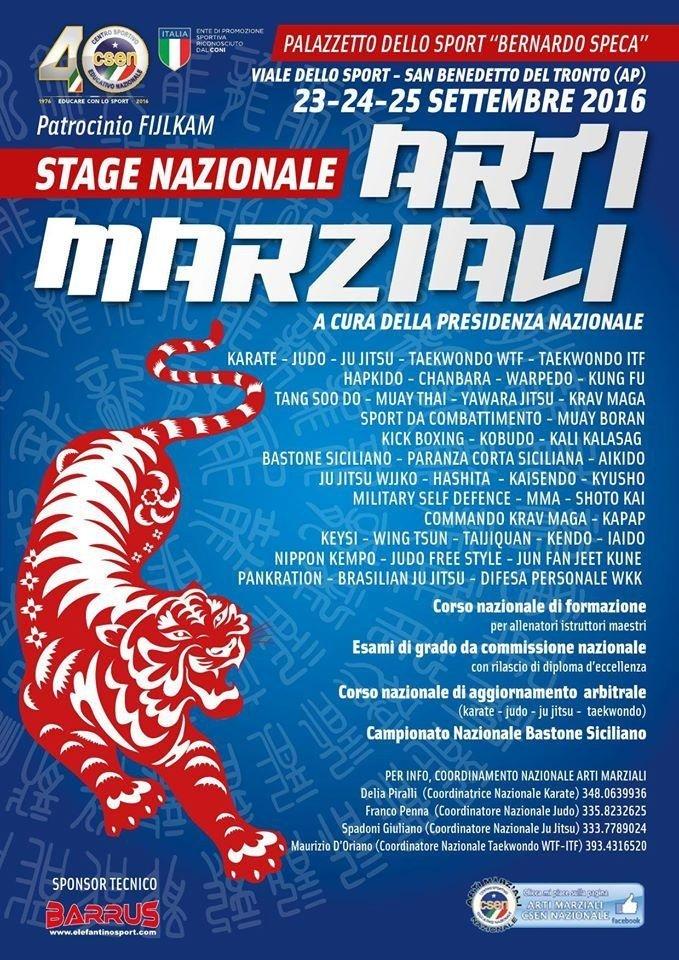 stage nazionale CSEN