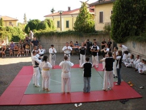 esibizione mista a Castronno - Varese