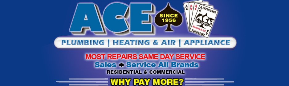 Ace Plumbing Heating Air Conditioning Appliance Repair