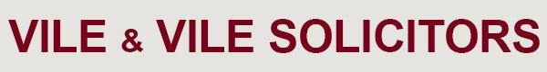 vile and vile solicitors logo