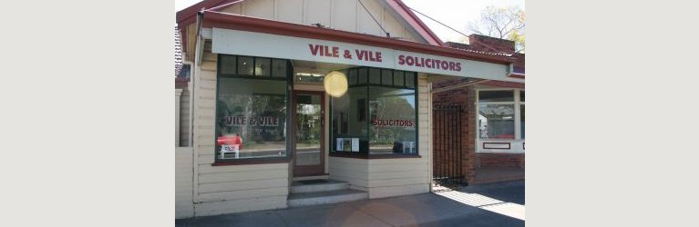 vile and vile solicitors office