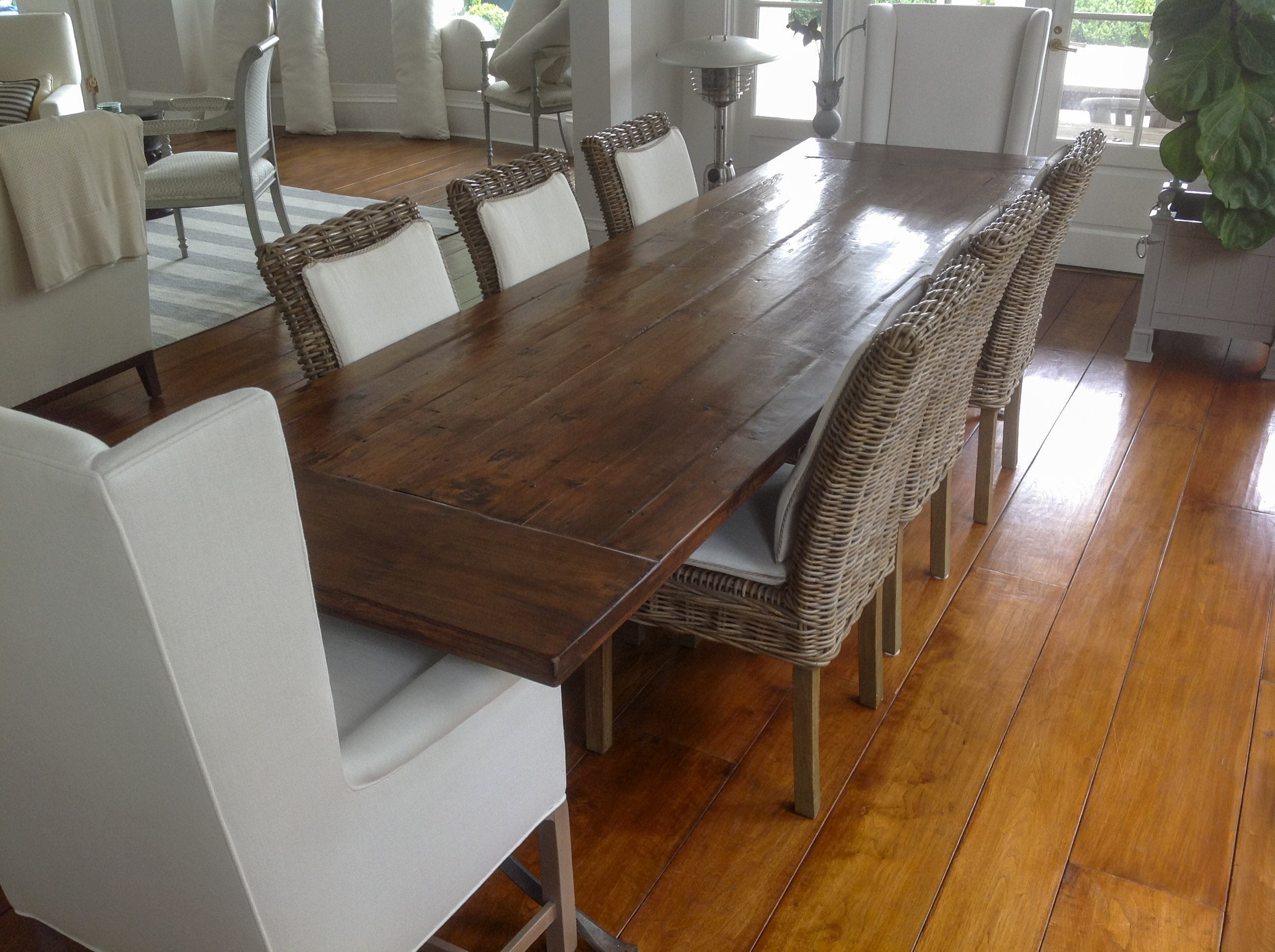 gallery custom kitchen tables 27 Write your caption here Button Custom Dining Tables