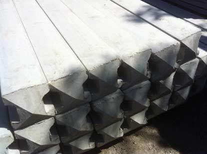 Concrete Posts - close up
