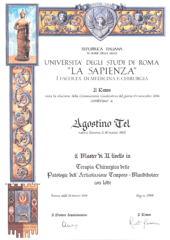 università degli studi di Roma - LA Sapienza