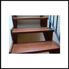 scale di legno