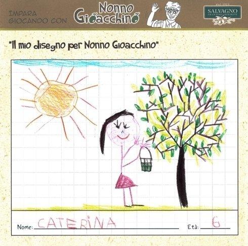 il mio disegno per Nonno Gioacchino