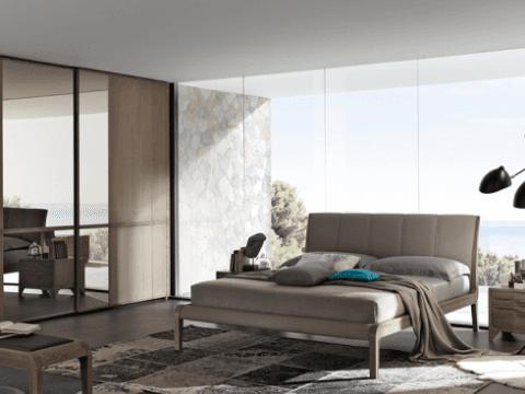camera da letto legno frassino Cleo