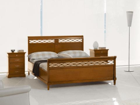 letto legno accademia