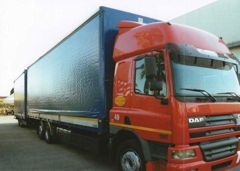 teloni in pvc per camion trasporti