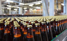 High speed bottling and packaging plants
