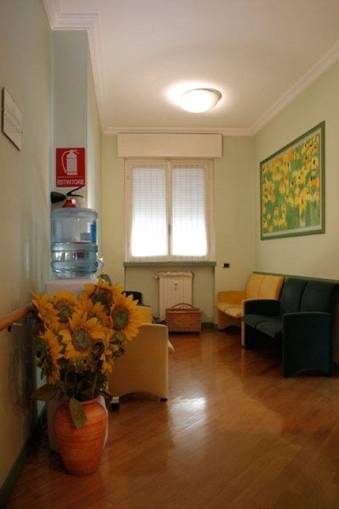 sala attesa studio dentistico