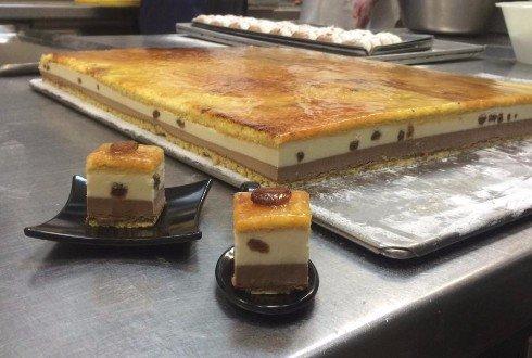 due fette di torta