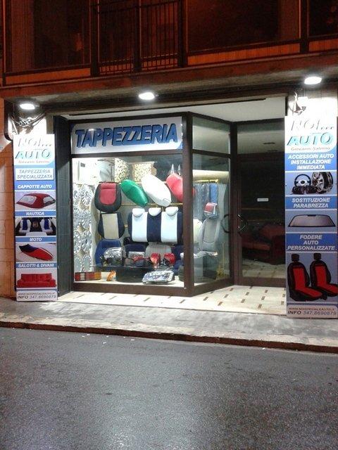 Tappezzeria auto a Vittoria, RG