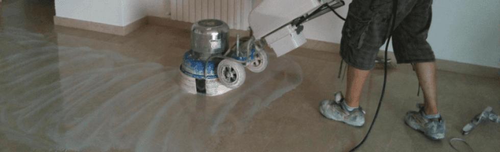 Lucidatura marmi e pavimenti