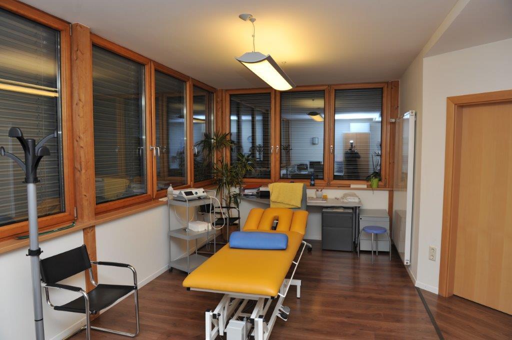 sala massaggi di centro riabilitativo