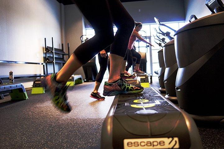 Athlete training in Bentonville, Arkansas