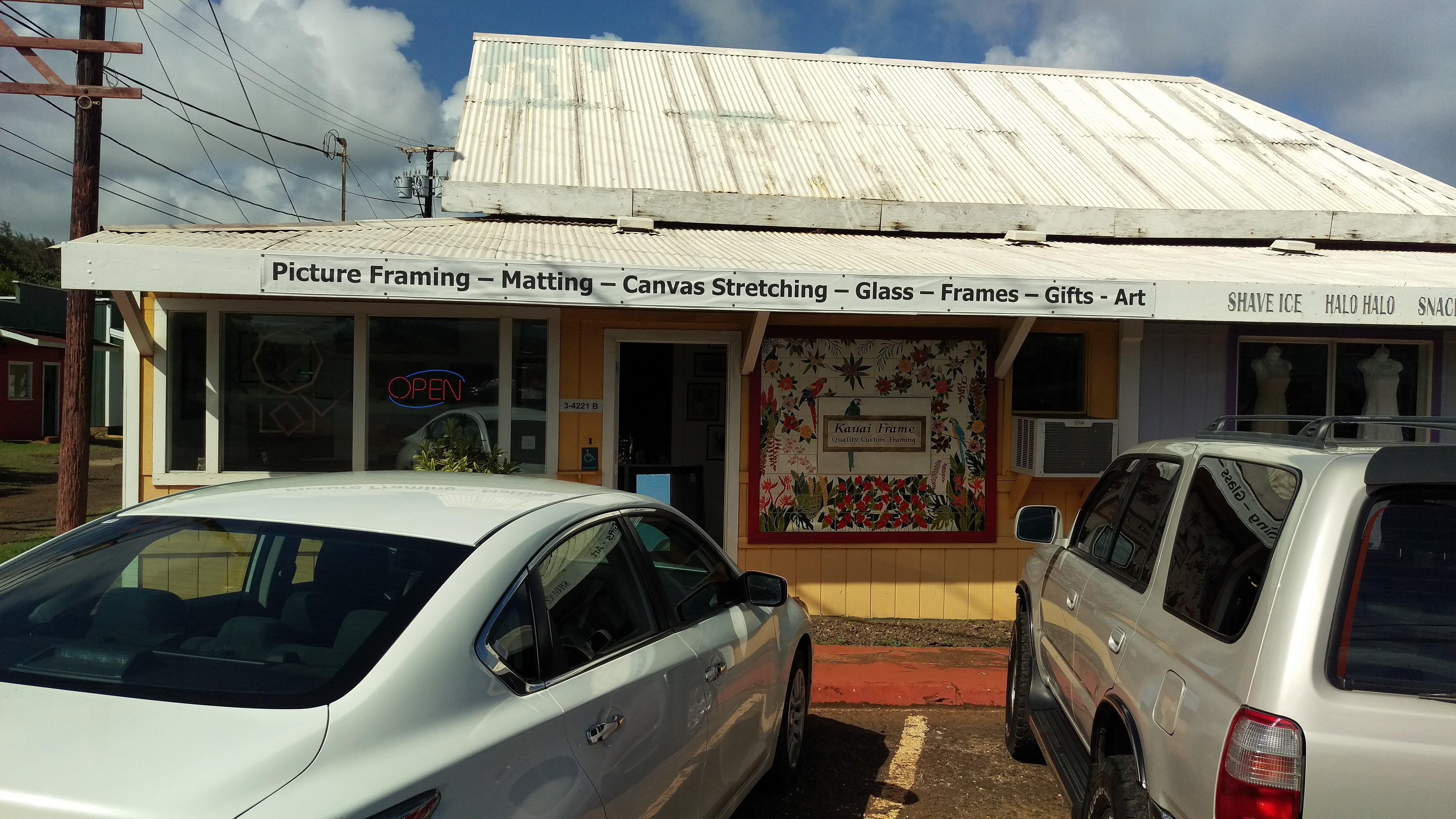 Kauai Frame Shop in Lihue