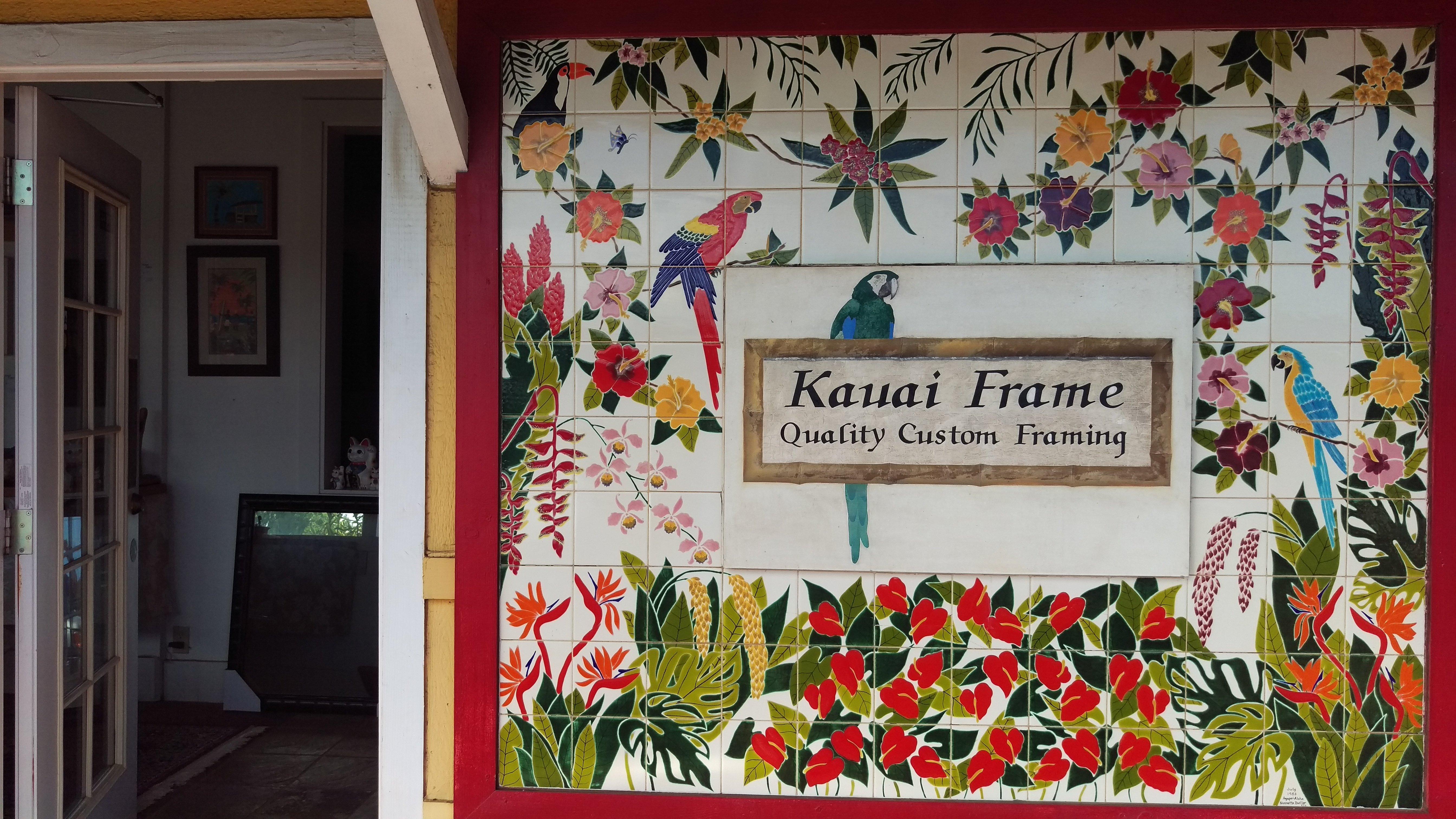 Wide range of designer frames in Lihue