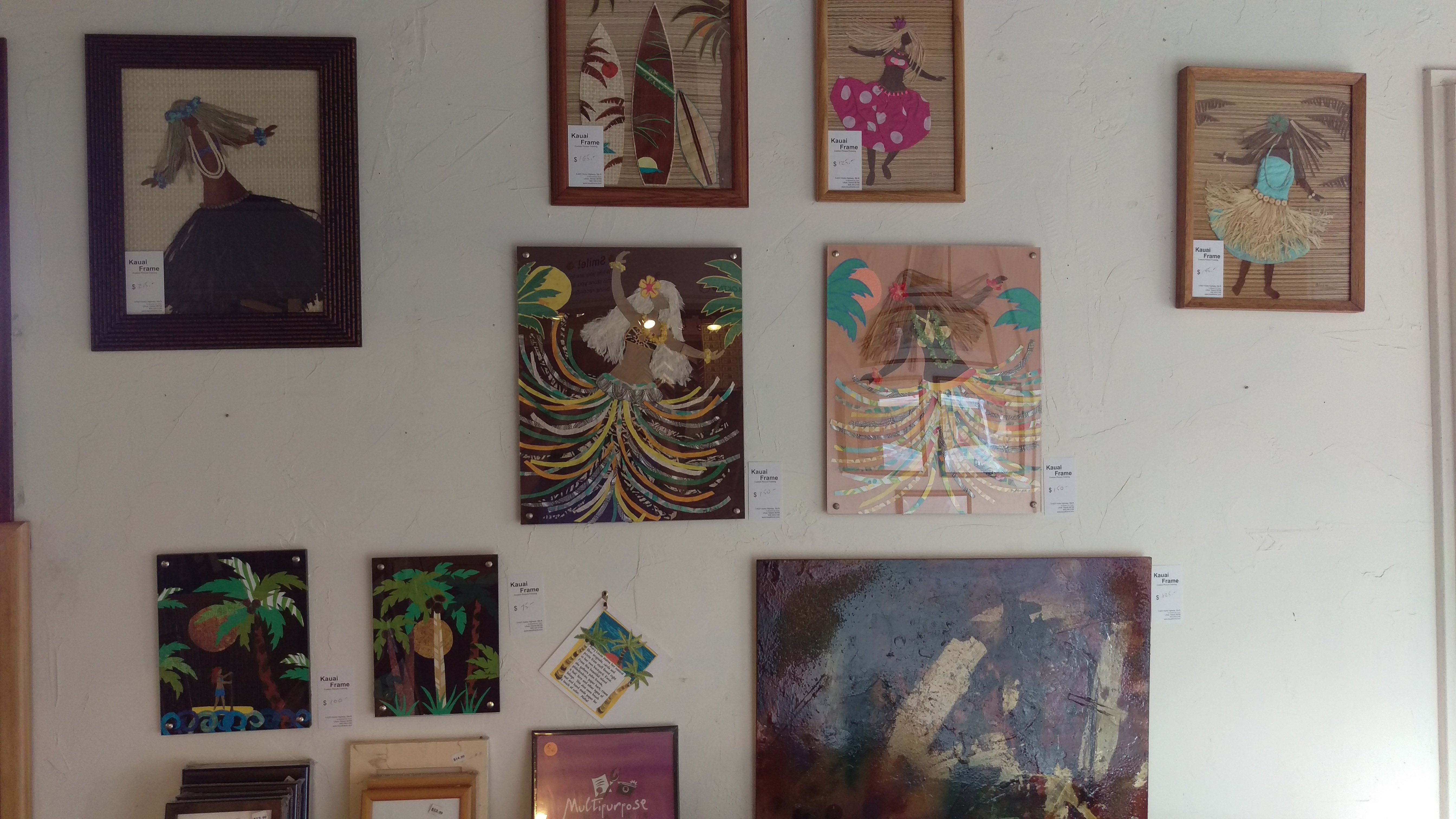 Creative frames in Lihue