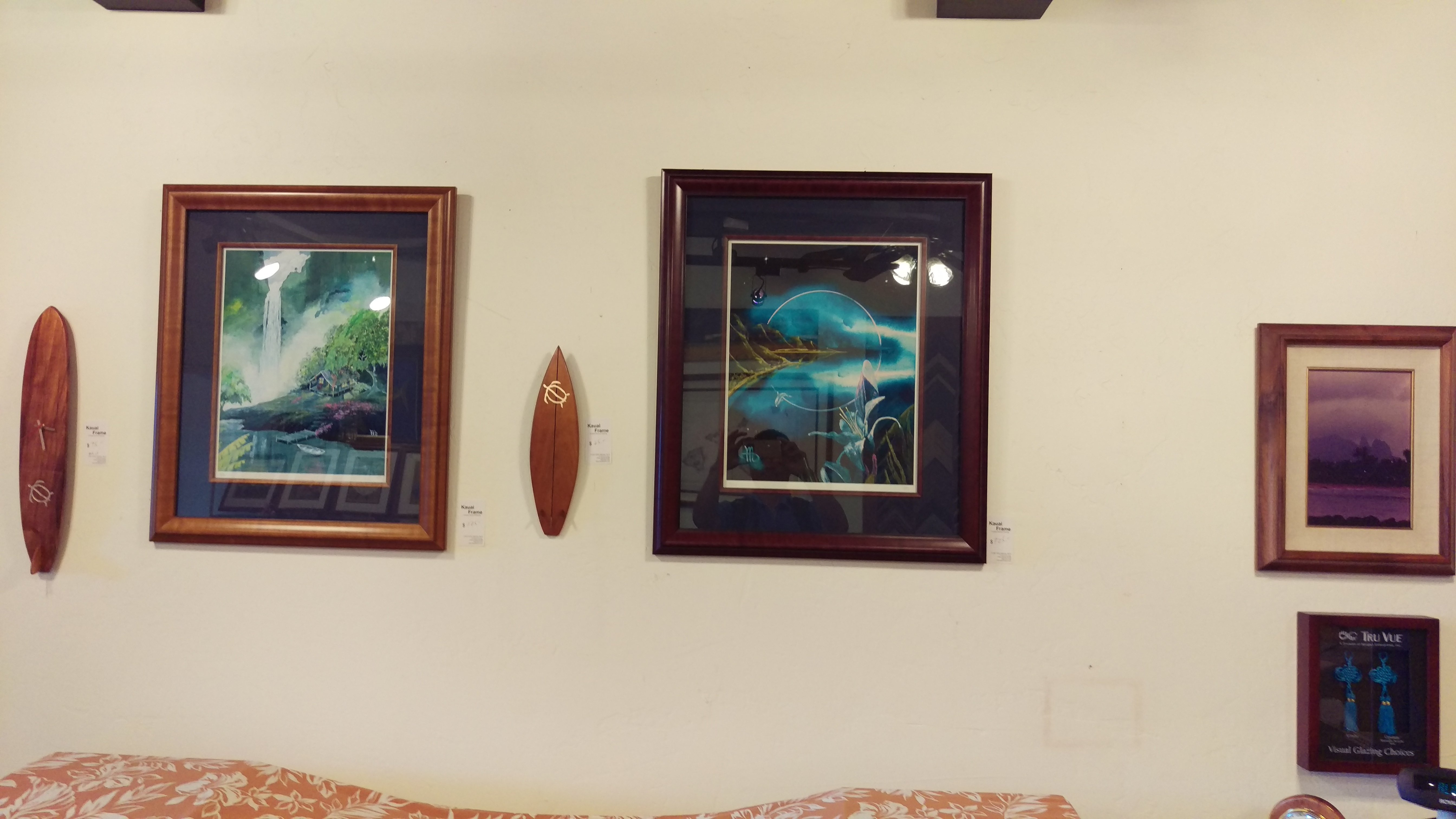 Designer frames in Lihue