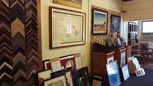 Designer picture frames in Lihue