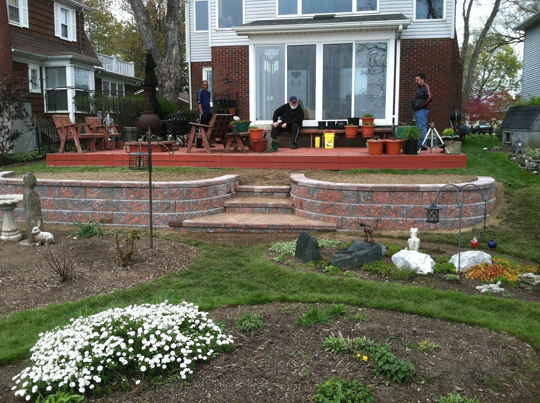 landscape installation - Wheatfield, NY
