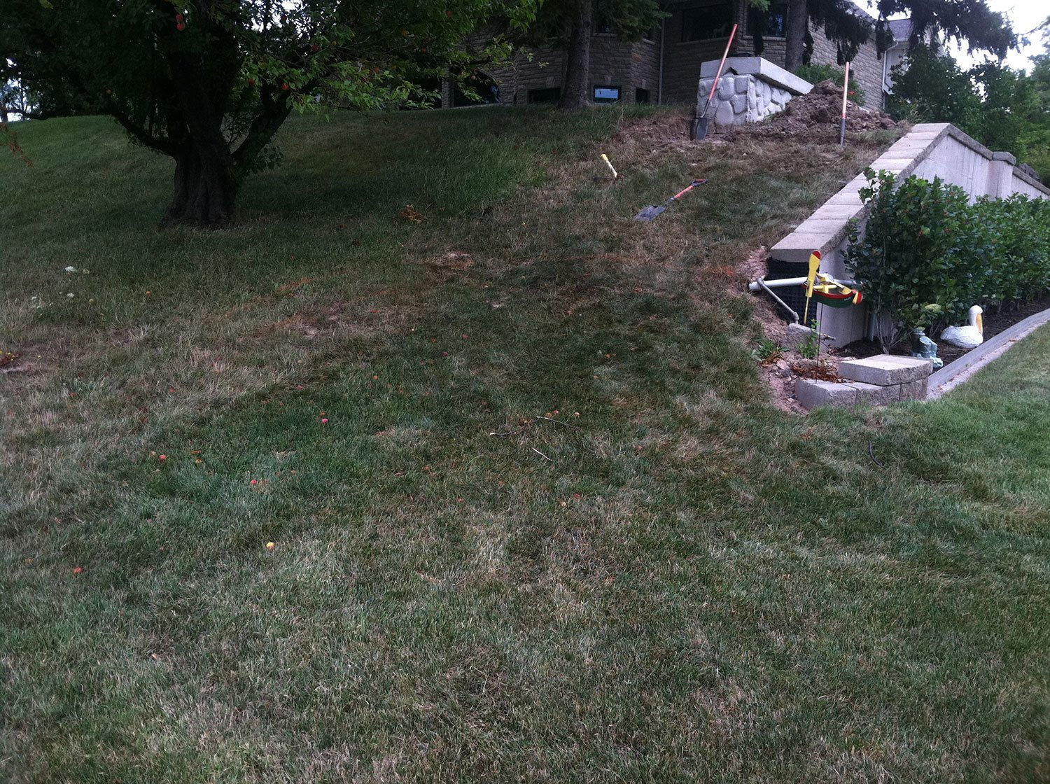 backyard landscaping - Wheatfield, NY