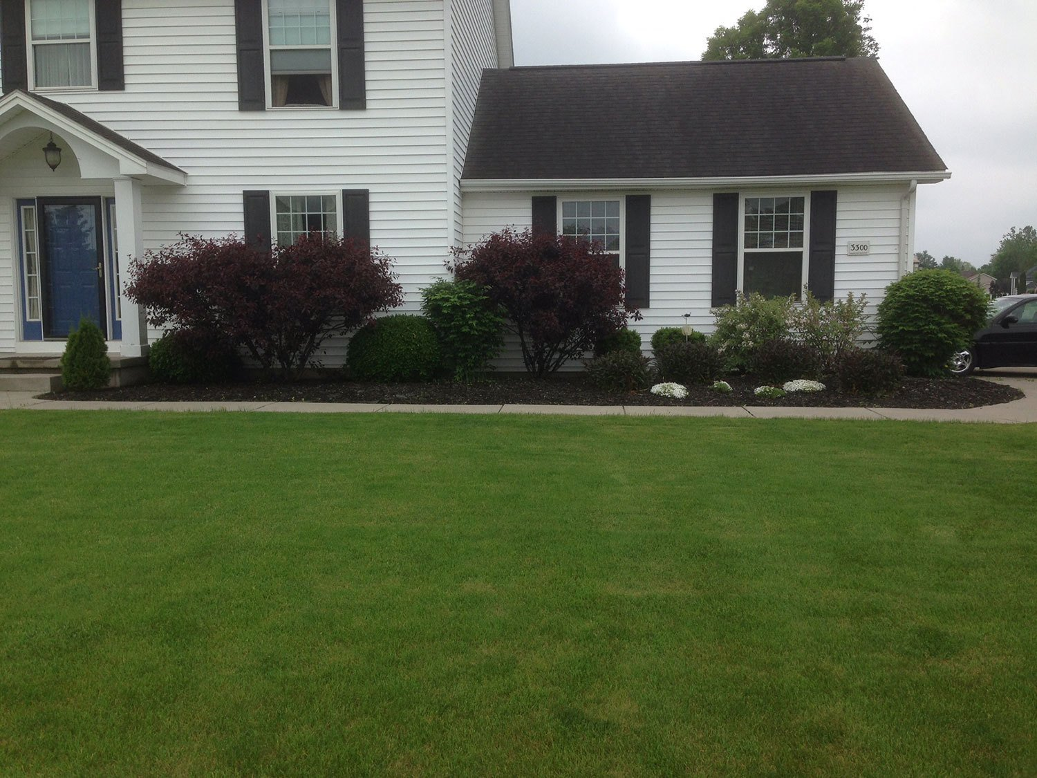 landscaping installation - Amherst, NY