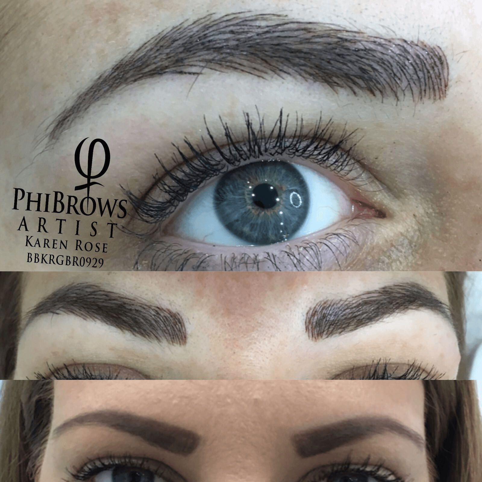 Semi Permanent Make Up Phibrows Microblading Treatment In