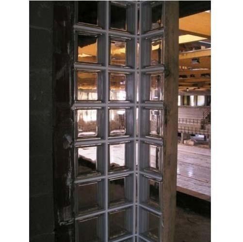parete mattoni di vetro
