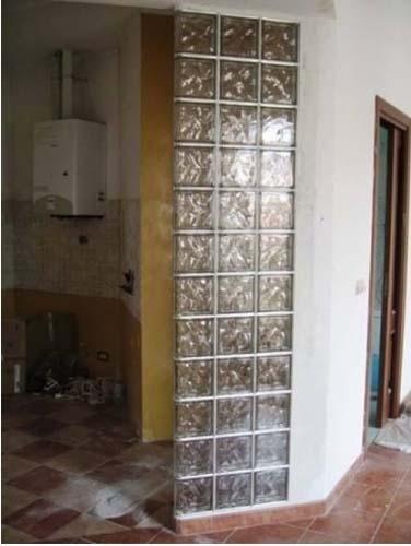 Soluzioni in vetrocemento per edilizia torino ferrara - Box doccia vetrocemento ...