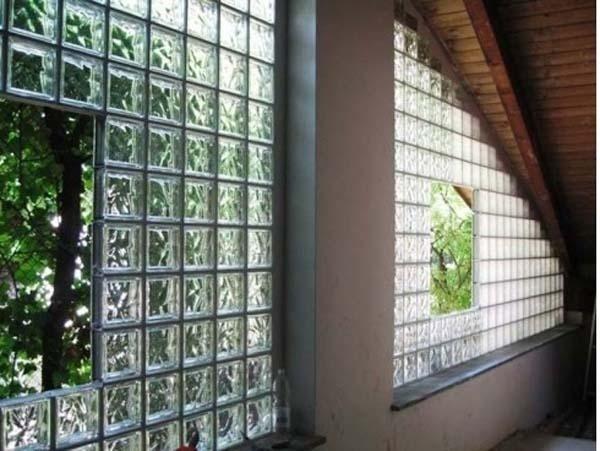 parete terrazzo vetrocemento