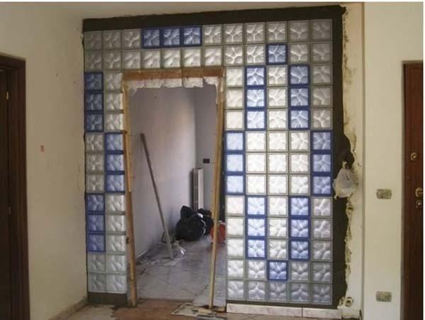 parete intera in vetrocemento
