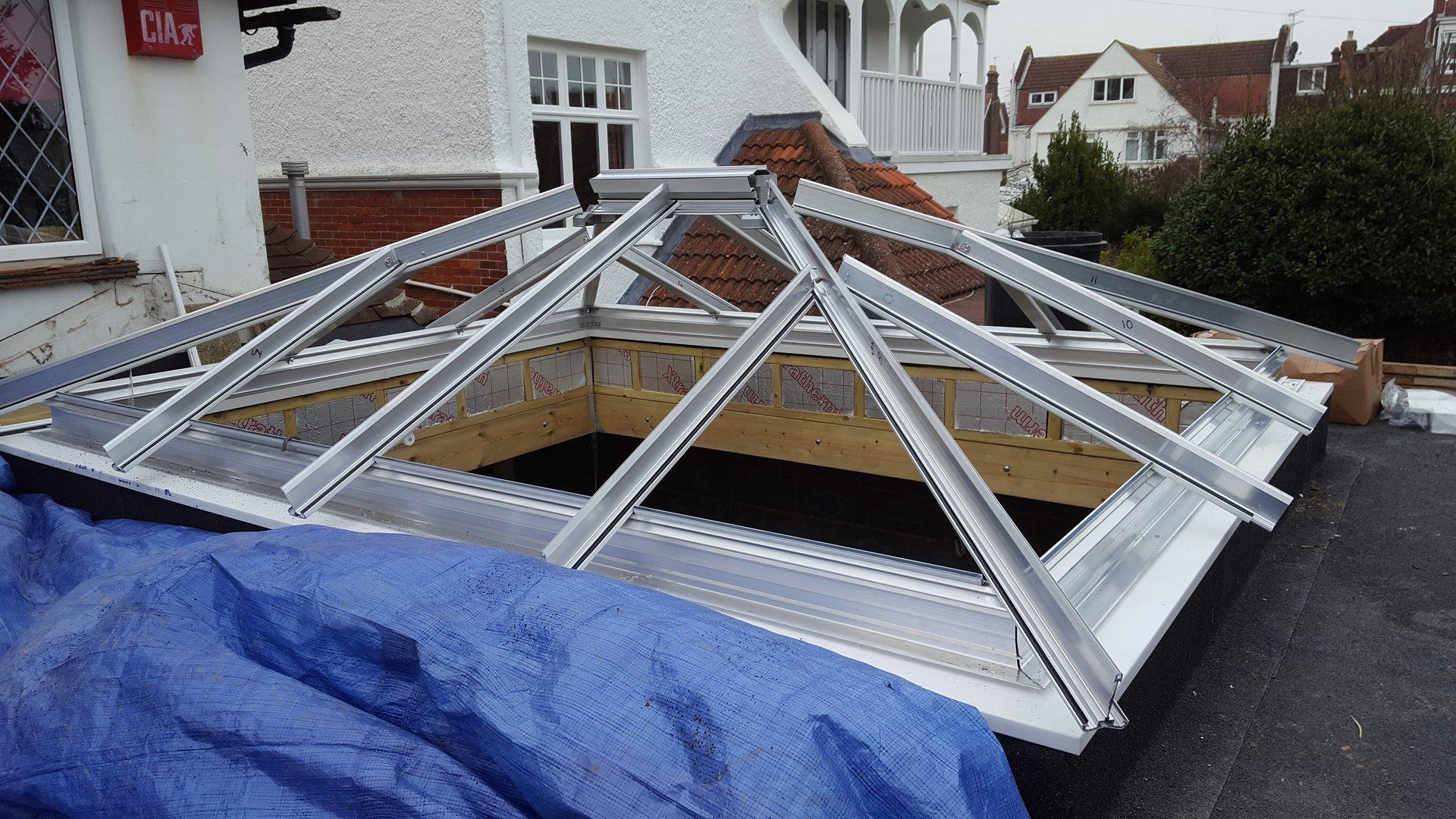 roof frame work