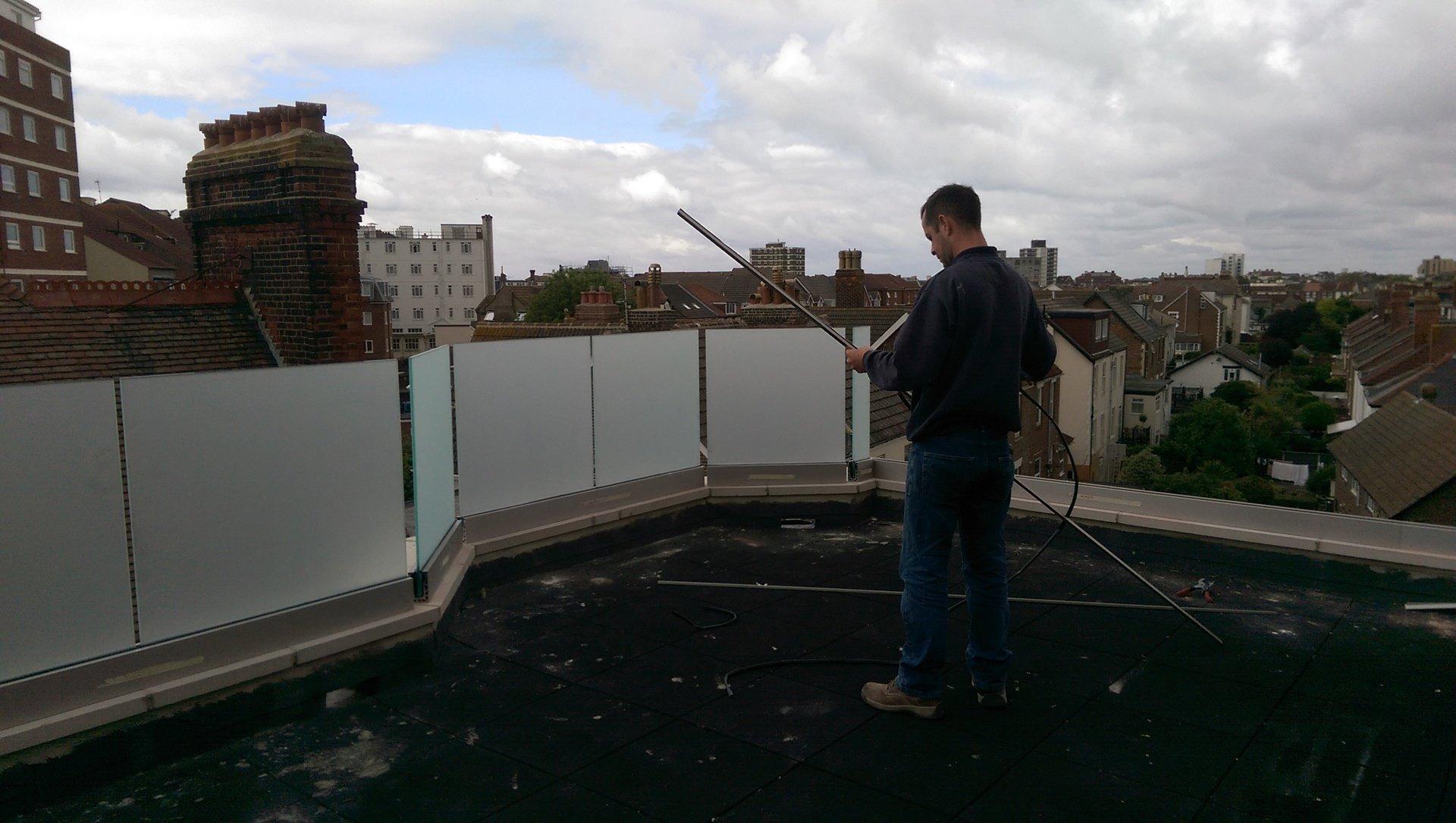 terrace work