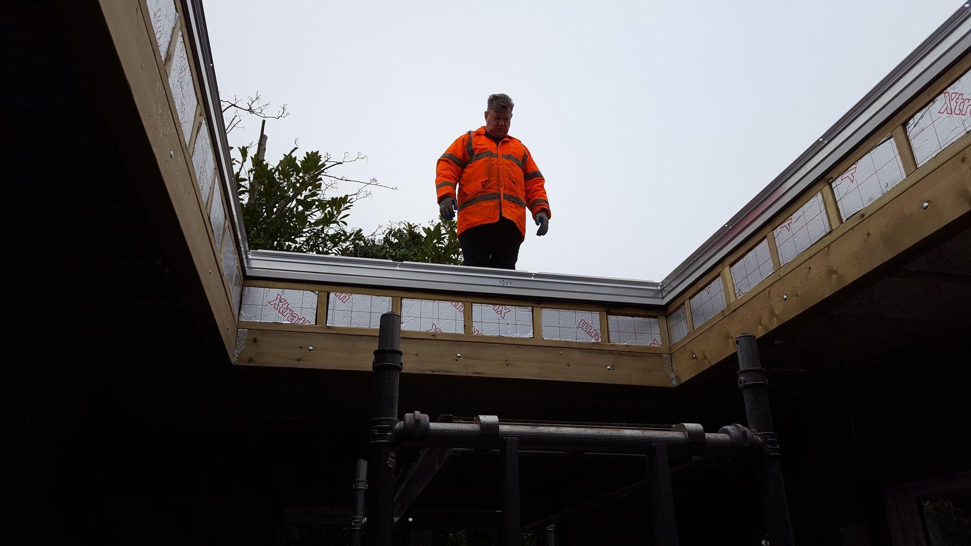building renovation work